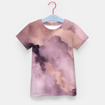 Thumbnail image of Pink Clouds Kid's t-shirt, Live Heroes
