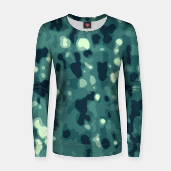 Thumbnail image of Abstract Texture Surface Print Women sweater, Live Heroes