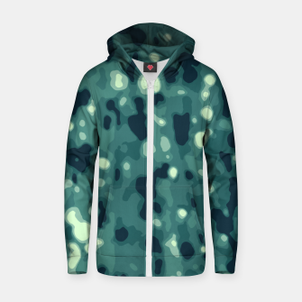 Thumbnail image of Abstract Texture Surface Print Zip up hoodie, Live Heroes