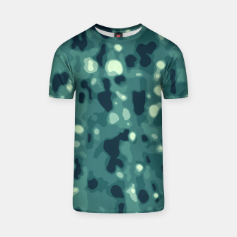 Thumbnail image of Abstract Texture Surface Print T-shirt, Live Heroes