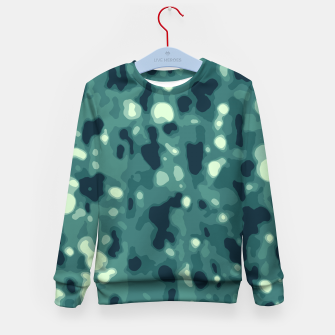 Thumbnail image of Abstract Texture Surface Print Kid's sweater, Live Heroes