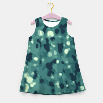 Thumbnail image of Abstract Texture Surface Print Girl's summer dress, Live Heroes