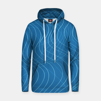 Thumbnail image of Blue Waves Lines  Hoodie, Live Heroes