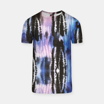 Thumbnail image of Tie dye paint digital 90 Camiseta, Live Heroes