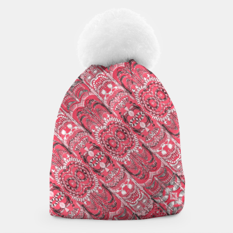 Thumbnail image of Fancy Ornament Pattern Design Beanie, Live Heroes