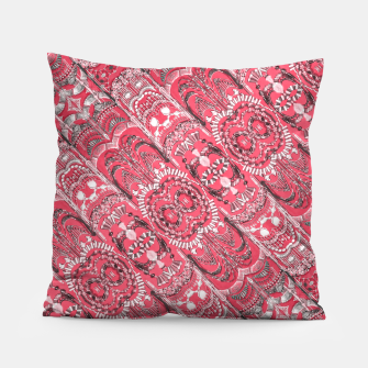 Thumbnail image of Fancy Ornament Pattern Design Pillow, Live Heroes