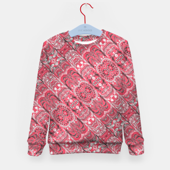 Thumbnail image of Fancy Ornament Pattern Design Kid's sweater, Live Heroes