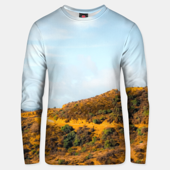 Miniature de image de Hiking trail scenic to Hollywood Sign, Los Angeles, USA Unisex sweater, Live Heroes
