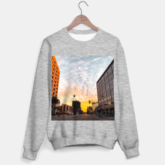 Thumbnail image of city sunrise at Encino, Los Angeles, USA Sweater regular, Live Heroes