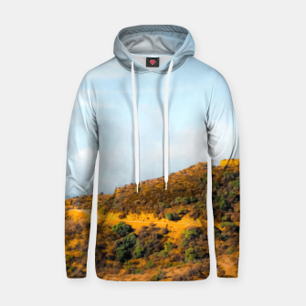 Hiking trail scenic to Hollywood Sign, Los Angeles, USA Hoodie thumbnail image