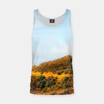 Hiking trail scenic to Hollywood Sign, Los Angeles, USA Tank Top thumbnail image
