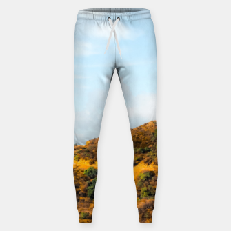 Hiking trail scenic to Hollywood Sign, Los Angeles, USA Sweatpants thumbnail image