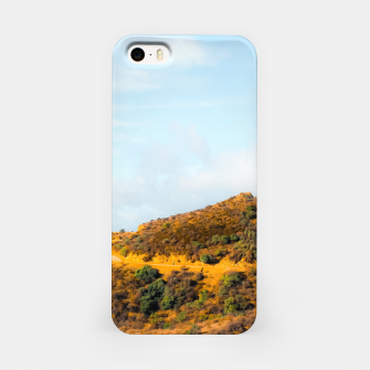 Miniature de image de Hiking trail scenic to Hollywood Sign, Los Angeles, USA iPhone Case, Live Heroes
