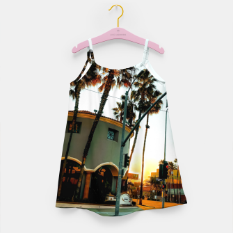 Thumbnail image of road in the city with sunrise sky at Encino, Los Angeles, USA Girl's dress, Live Heroes