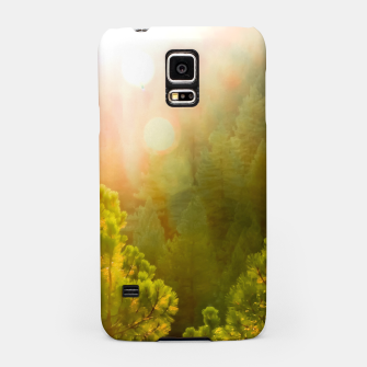 Thumbnail image of green pine tree with sunlight at Lake Tahoe, Nevada, USA Samsung Case, Live Heroes