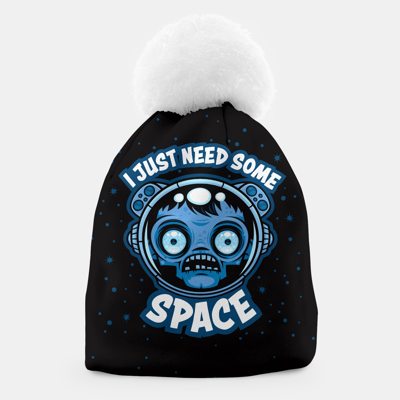 Image of Zombie Astronaut Needs Some Space Beanie - Live Heroes