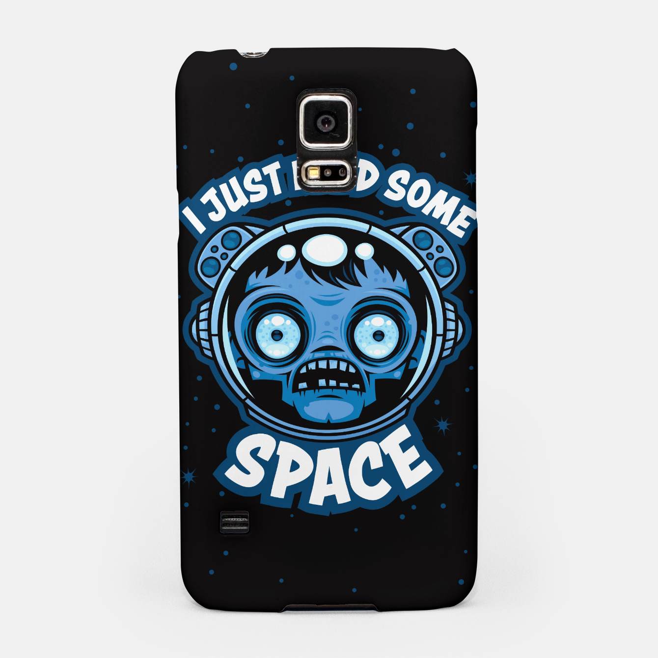 Image of Zombie Astronaut Needs Some Space Samsung Case - Live Heroes