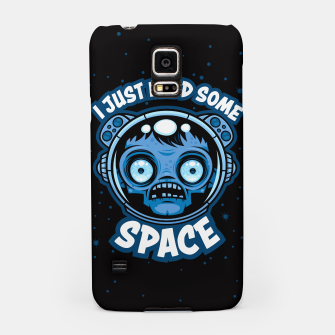 Thumbnail image of Zombie Astronaut Needs Some Space Samsung Case, Live Heroes