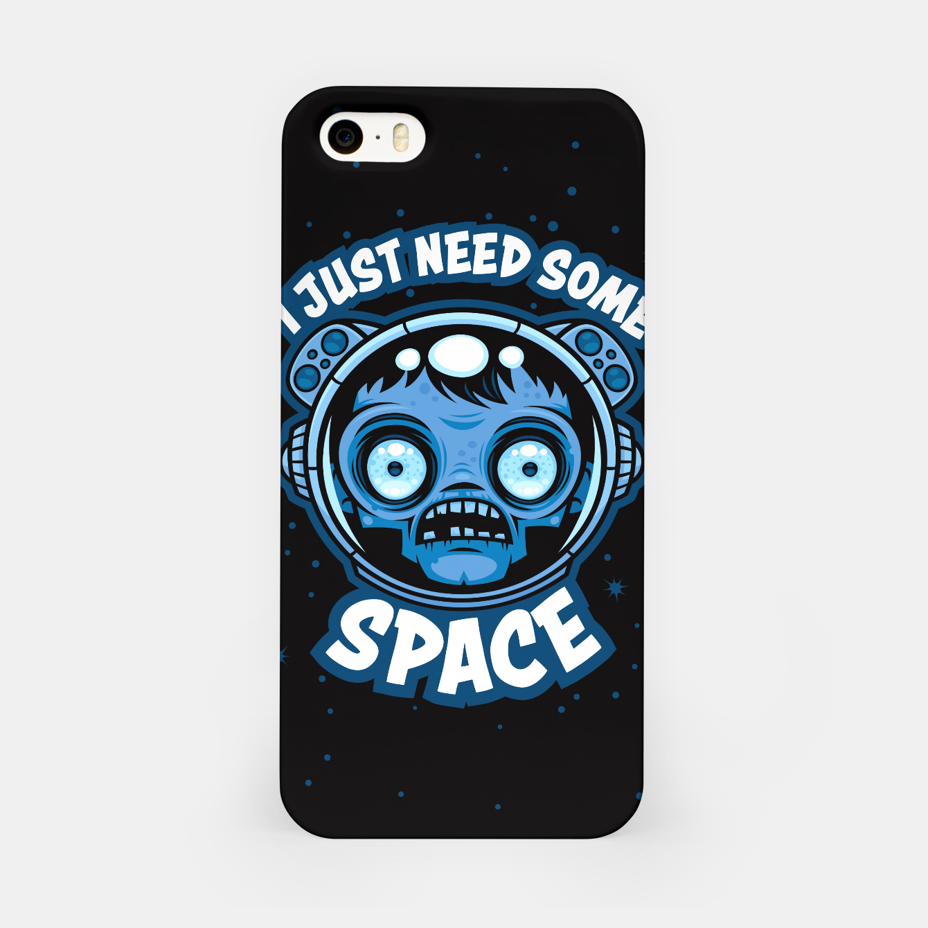 Image of Zombie Astronaut Needs Some Space iPhone Case - Live Heroes