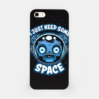 Thumbnail image of Zombie Astronaut Needs Some Space iPhone Case, Live Heroes