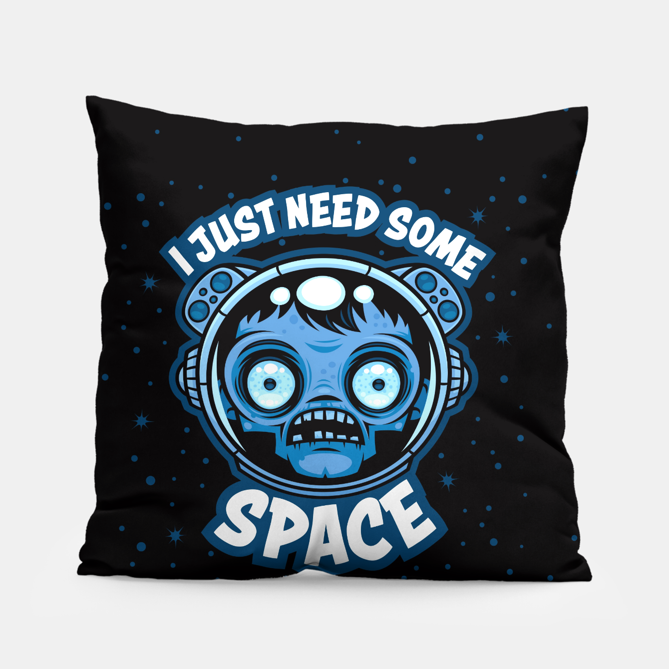 Image of Zombie Astronaut Needs Some Space Pillow - Live Heroes
