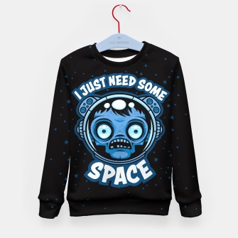 Thumbnail image of Zombie Astronaut Needs Some Space Kid's sweater, Live Heroes