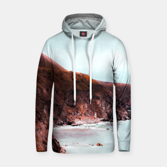 Miniaturka Mountains with ocean view at Big Sur, Highway 1, California, USA Hoodie, Live Heroes