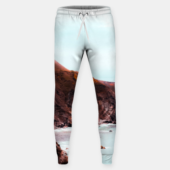 Miniaturka Mountains with ocean view at Big Sur, Highway 1, California, USA Sweatpants, Live Heroes