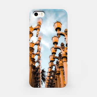 Thumbnail image of Urban Lights pole at LACMA, Los Angeles, California, USA iPhone Case, Live Heroes