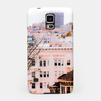 Thumbnail image of City view at Alamo Square, San Francisco, California, USA Samsung Case, Live Heroes