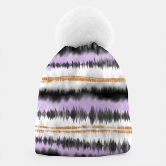 Thumbnail image of Linear tie dye strokes Gorro, Live Heroes