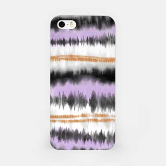 Thumbnail image of Linear tie dye strokes Carcasa por Iphone, Live Heroes