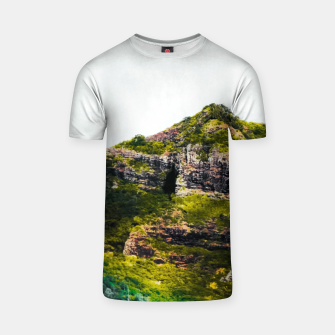 Miniatur green tropical mountains at Kauai, Hawaii, USA T-shirt, Live Heroes