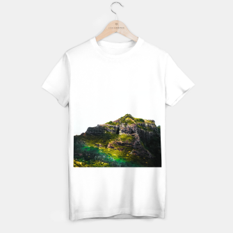 Miniatur green tropical mountains at Kauai, Hawaii, USA T-shirt regular, Live Heroes