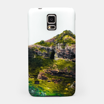 Miniatur green tropical mountains at Kauai, Hawaii, USA Samsung Case, Live Heroes