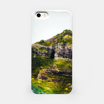 Miniatur green tropical mountains at Kauai, Hawaii, USA iPhone Case, Live Heroes