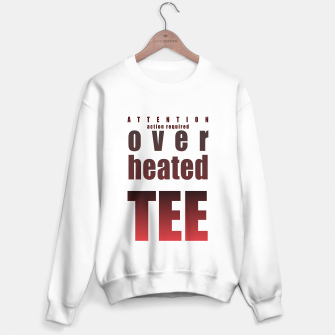 Thumbnail image of Over-heated tee Sweater regular, Live Heroes