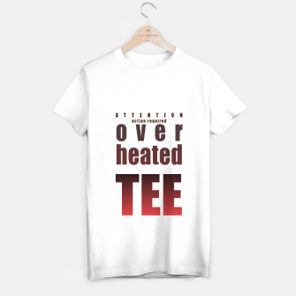 Thumbnail image of Over-heated tee T-shirt regular, Live Heroes