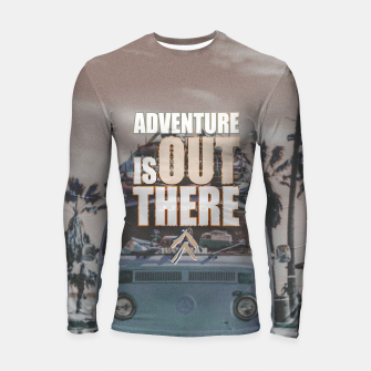 Thumbnail image of Adventure is out there Longsleeve rashguard , Live Heroes