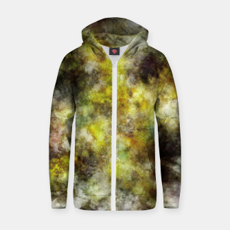 Thumbnail image of Heading into the yellow storm Zip up hoodie, Live Heroes