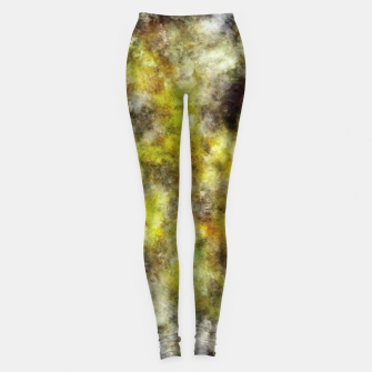 Thumbnail image of Heading into the yellow storm Leggings, Live Heroes