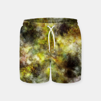 Thumbnail image of Heading into the yellow storm Swim Shorts, Live Heroes