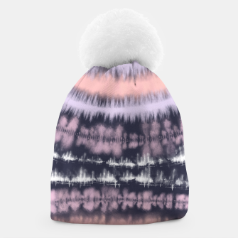 Miniatur Blue and coral tie dye  Gorro, Live Heroes