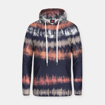 Miniatur Blue and coral tie dye B Sudadera con capucha, Live Heroes