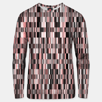 Thumbnail image of Screen glitch, geometric print, old tv design, abstract tech print Unisex sweater, Live Heroes