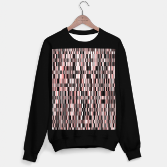 Thumbnail image of Screen glitch, geometric print, old tv design, abstract tech print Sweater regular, Live Heroes