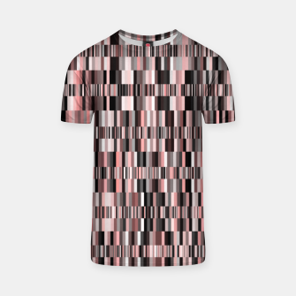 Thumbnail image of Screen glitch, geometric print, old tv design, abstract tech print T-shirt, Live Heroes