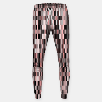 Thumbnail image of Screen glitch, geometric print, old tv design, abstract tech print Sweatpants, Live Heroes