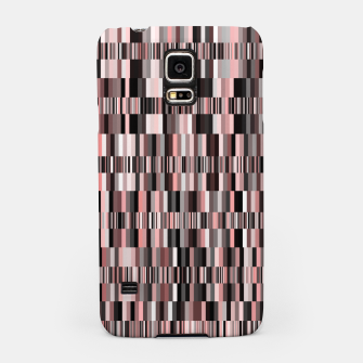 Thumbnail image of Screen glitch, geometric print, old tv design, abstract tech print Samsung Case, Live Heroes