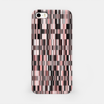 Thumbnail image of Screen glitch, geometric print, old tv design, abstract tech print iPhone Case, Live Heroes